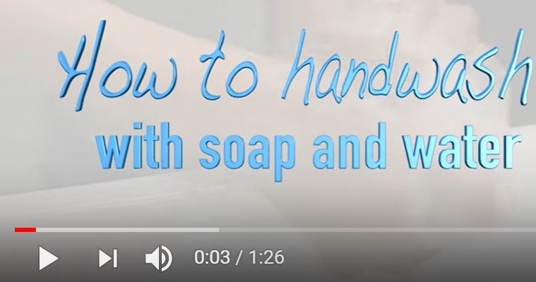Handwashing in aged care